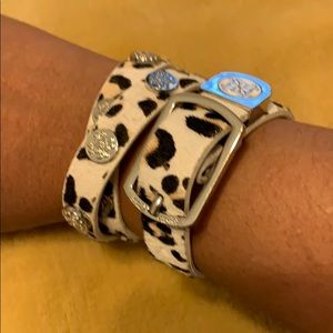 Calfskin bracelet set